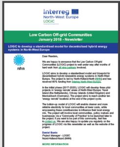 1. Newsletter im Projekt LOGiC erschienen