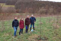 Die Operationelle Gruppe MUNTER startet Feldsaison und weist Feldbiologen des Büros gutschker – dongus in die drei Untersuchungsgebiete in der Westpfalz und Vulkaneifel ein.