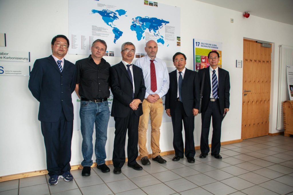 Chinesische Delegation der Wuhan Polytech University am IfaS