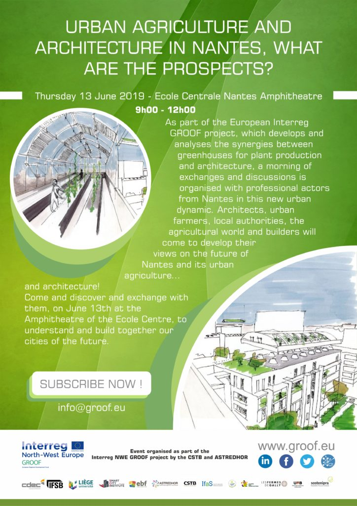 "Konferenz ""URBAN AGRICULTURE AND ARCHITECTURE IN NANTES, WHAT ARE THE PROSPECTS?"""