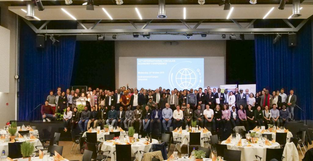 10. Internationale Kreislaufwirtschaftswoche: 200 Gäste aus 34 Ländern
