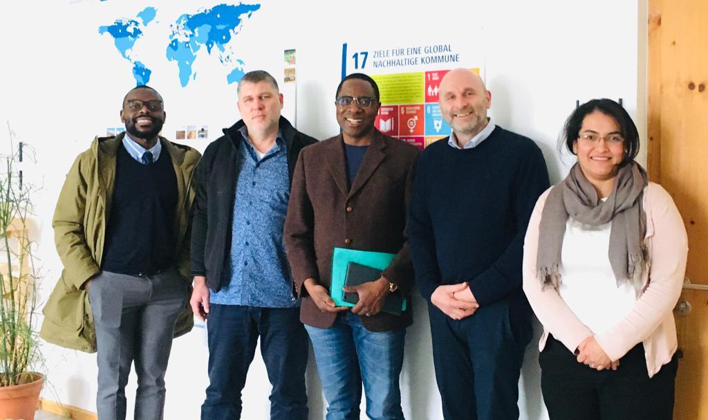 Delegation aus Kongo zu Besuch am IfaS