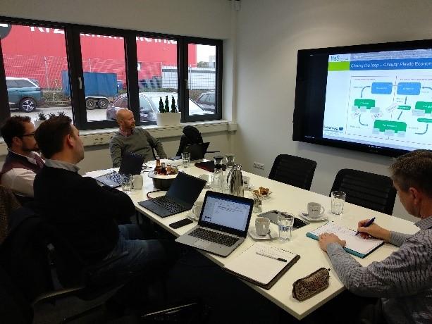 TRANSFORM-CE – Abstimmung zwischen TOMRA Sorting GmbH und Projektpartnern in Deutschland