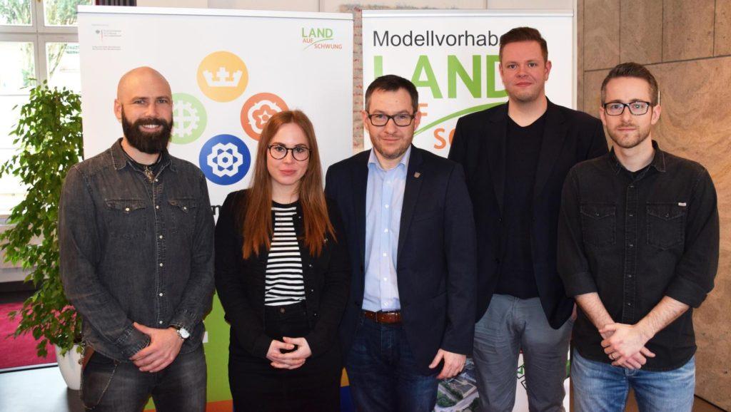 """""""Modellvorhaben Land(auf)Schwung im Landkreis Neunkirchen"""" - Projekt des Monats am Umwelt-Campus Birkenfeld"""