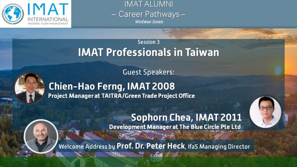 "Internationale IMAT-Netzwerksitzung ""IMAT Professionals in Taiwan"""