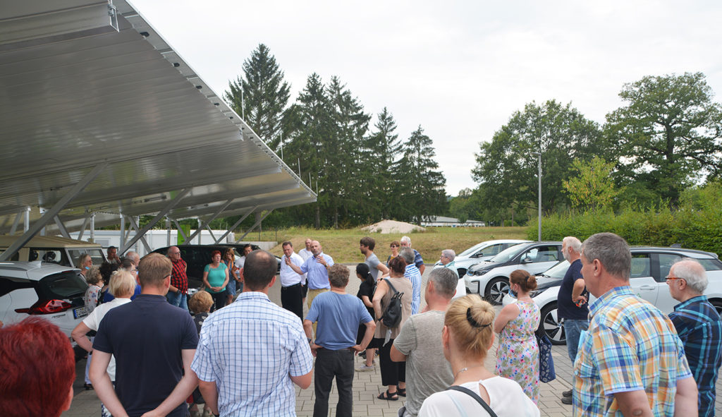 Stadtrat Sulzbach/Saar zu Besuch am Umwelt-Campus Birkenfeld