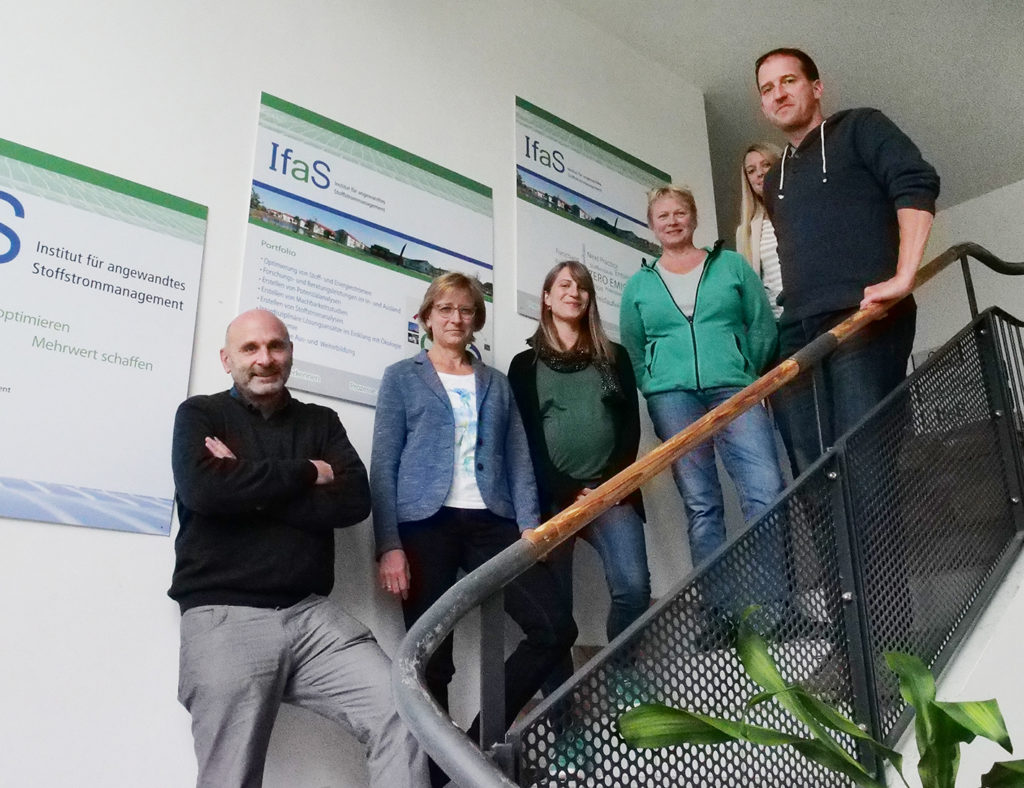 "The Klimastiftung für Bürger (""Climate Foundation for citizens"") of Sinsheim visits the IfaS"