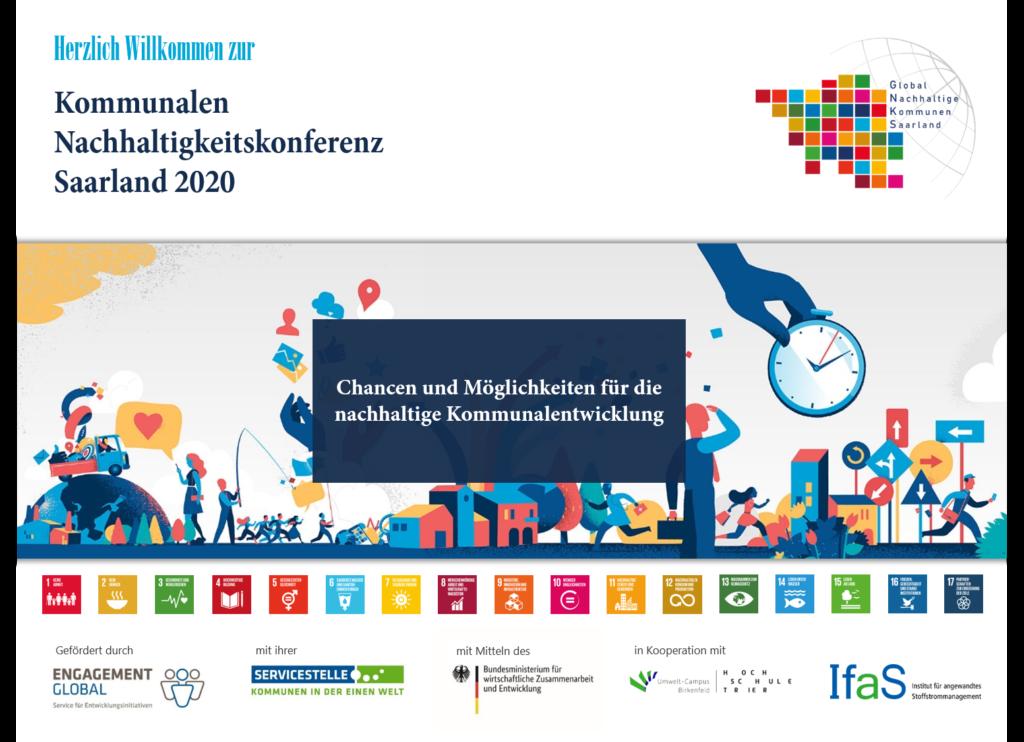 Kommunale Nachhaltigkeitskonferenz Saarland 2020