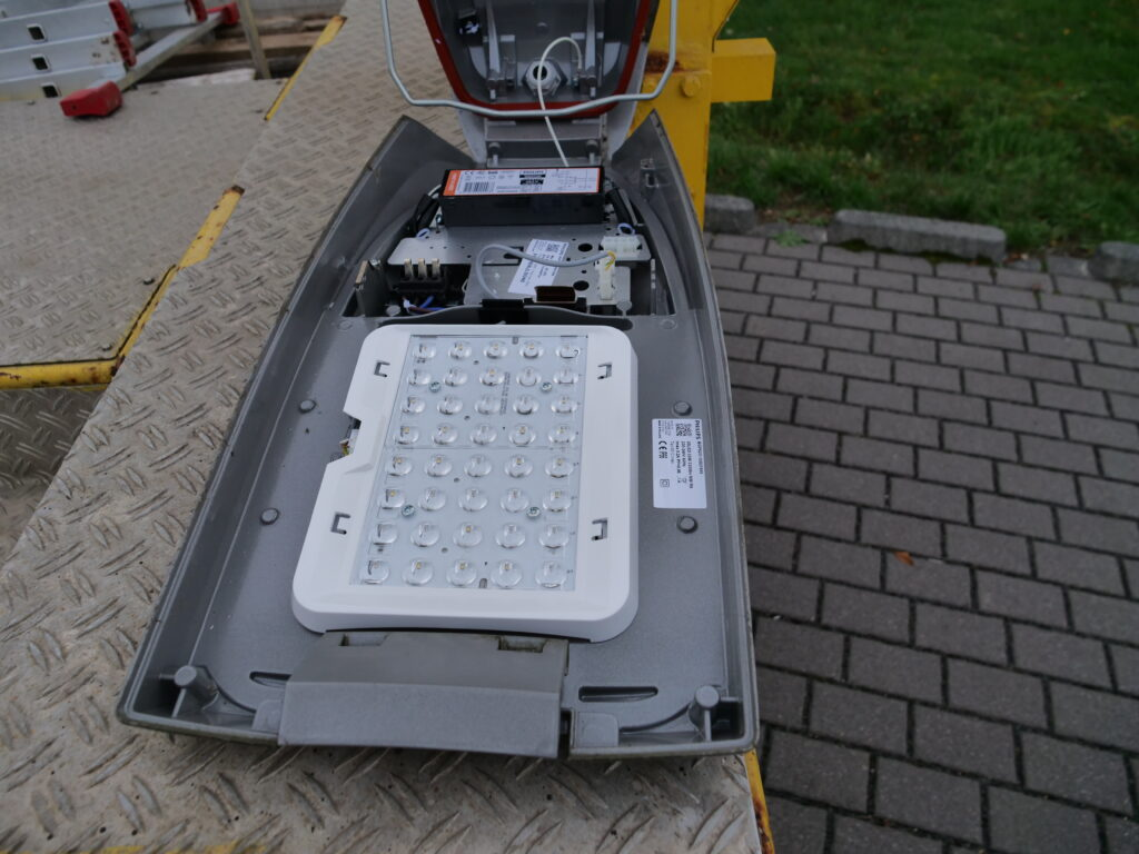 Smart Street Lighting: Sample street at the Environmental Campus Birkenfeld