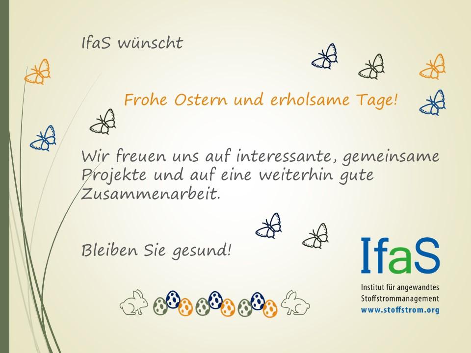 IfaS wünscht Frohe Ostern