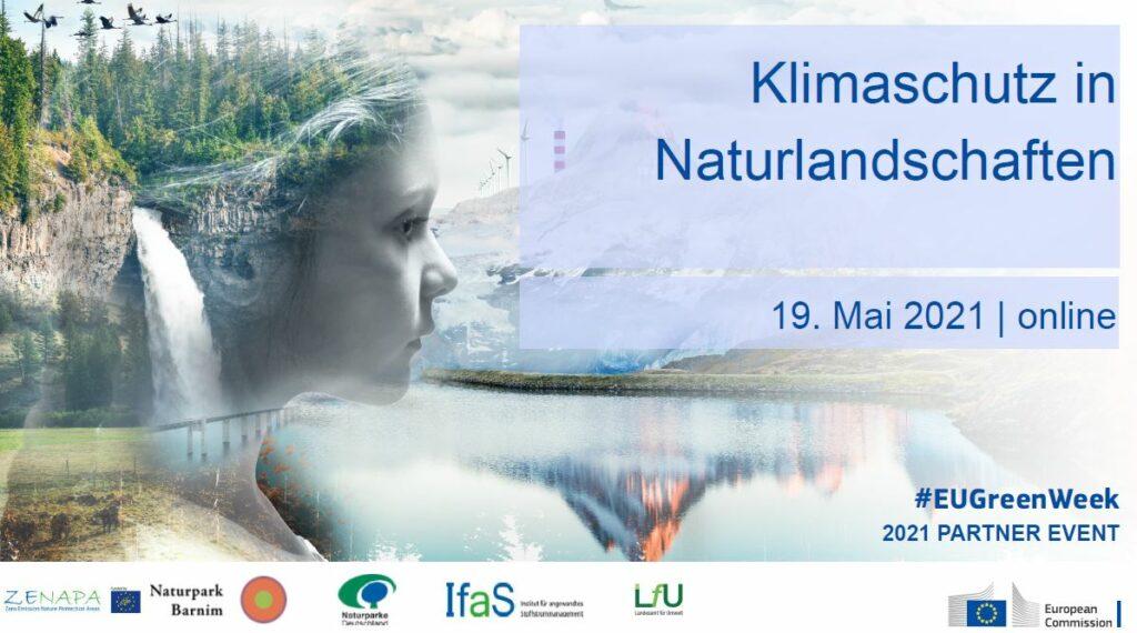 """Digitale Konferenz zum Thema """"Klimaschutz in Naturlandschaften"""""""