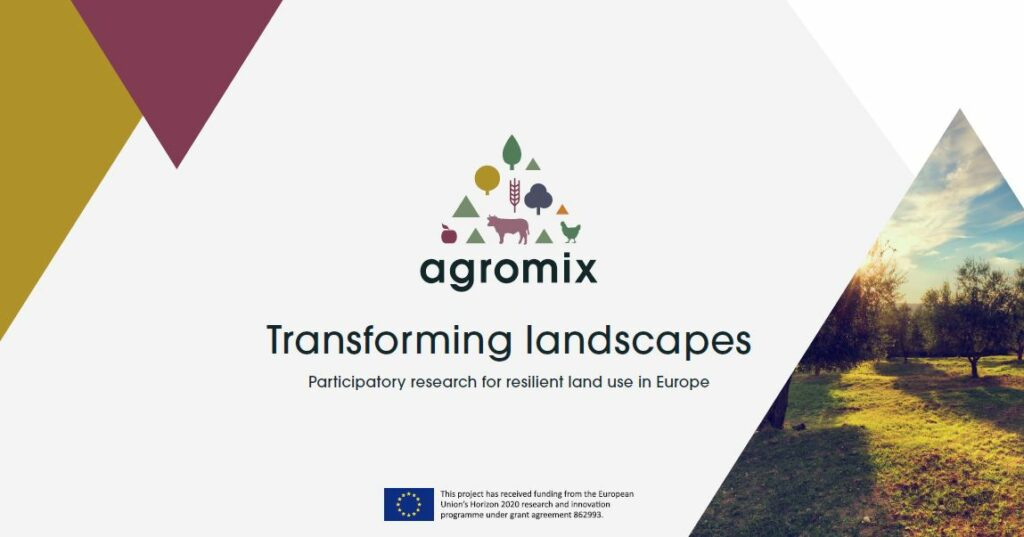 Leaflet on the AGROMIX project published