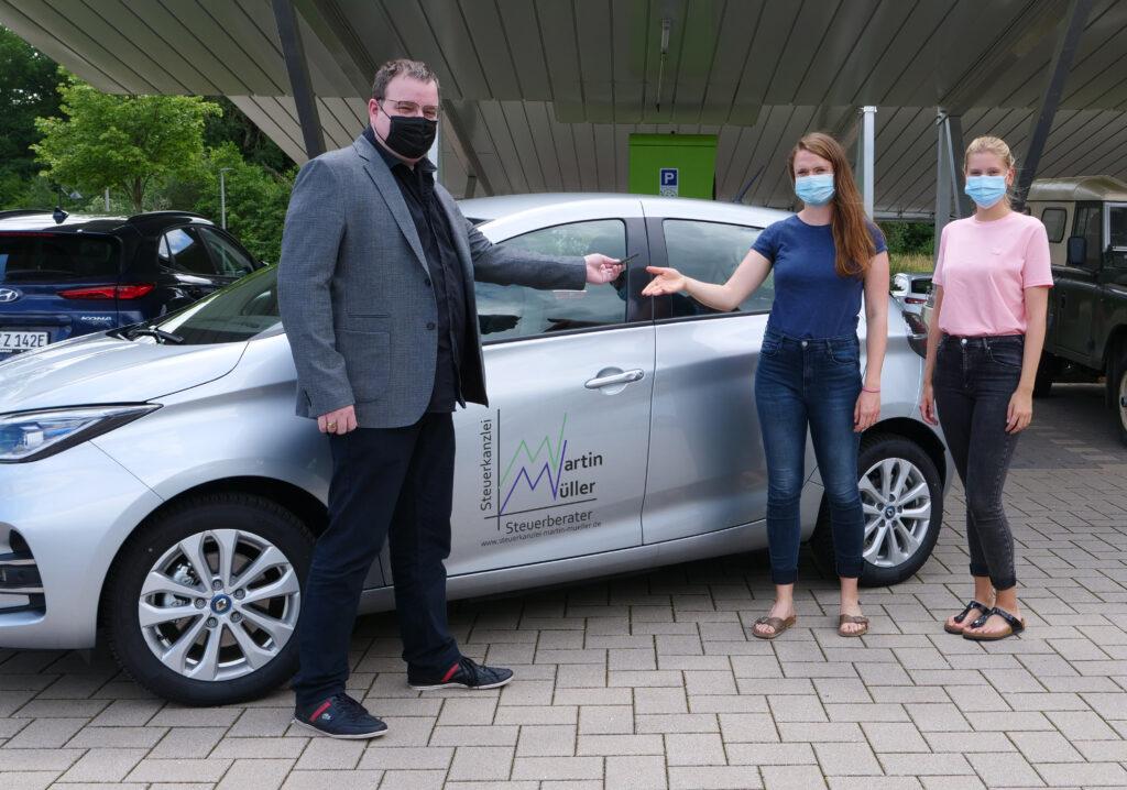 EMOS GbR nimmt Fahrt auf - Carsharing am Umwelt-Campus Birkenfeld gestartet