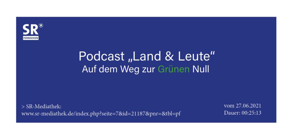 """Podcast """"Land & Leute"""" mit Interviewsequenzen von Herr Prof. Peter Heck"""
