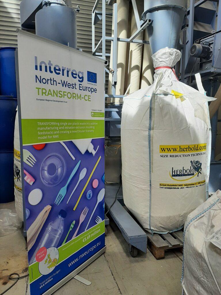 Begleitung Sortierversuche Windsichtung sowie NIR-Sortierung einer industriellen Mischkunststofffraktion