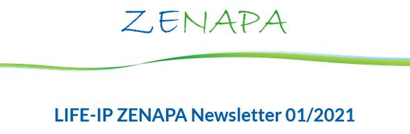 Aktueller Newsletter im Projekt LIFE-IP ZENAPA erschienen